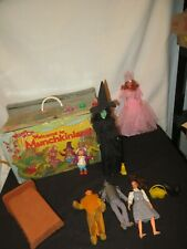 WIZARD OF OZ  WELCOME TO MUNCHKINLAND 1975 MEGO TOY PLAYSET wt FIGURES lion toto