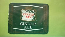 OLD IRISH SOFT DRINK CORDIAL LABEL, C&C DUBLIN BREWERY, CANADA DRY GINGER ALE