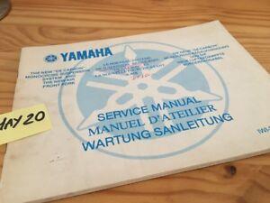YZ Desde Carbon Suspensión Monocross Revisión Técnica Moto Servicio Manual