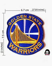 GOLDEN STATE WARRIORS(New) NBA Sport Logo iron-sewing-patch on fabric