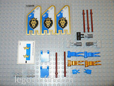 NEW LEGO Kings Castle Gold blue flag emblem banner lion insignia figure 70404 02