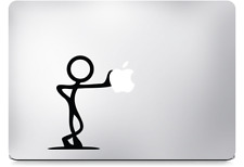 MacBook Stick man Sticker Decal For MacBook Pro Air All Sizes Laptop Sticker Art