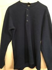 Patagonia Capilene Henley - Men's Medium - Blue Pre Owned Excellent