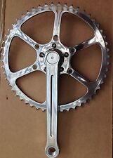 SunXCD 50.4BCD sola pedalier con TA Anillo-Cyclotouriste, Stronglight 49D