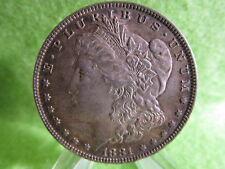 1881 O MORGAN SILVER DOLLAR IN EXTRA FINE CONDITION  VAM
