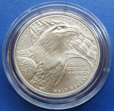 2008-S Us Bald Eagle Commemorative Bu Half Dollar Box + Coa