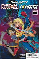 Marvel Team-Up Issue 4 Captain And Ms. Marvel Modern Age First Print 2019 Guara