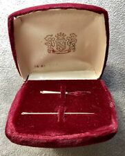 14k Gold Needle And Threader Set With Original Box