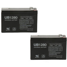 UPG 2 Pack - 12V 8Ah F2 Replacement Battery for APC Back-UPS RS 800VA