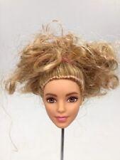 Barbie Fashionista Doll Head White Skin Blond Hair for Mattel Z16
