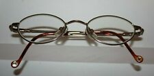 Disney Eyewear Kids Silver & Brown Tortoise Prescription EyeGlasses by Marchon