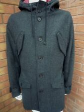SELECTED HOMME CHARCOAL GREY COAT BNWT RETAIL £155 SIZE XXL