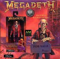 "NECA - MEGADETH - VIC RATTLEHEAD PEACE SELLS - 8"" CLOTHED Figur - BOX NEU/OVP"