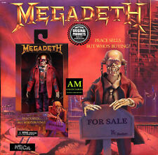 Neca Megadeth Vic Rattlehead Cover Clothed Retro Action Doll Vintage Re Print ne