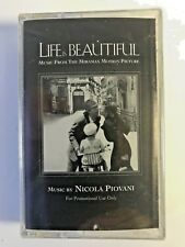 Life is Beautiful, music from movie, Nicola Piovani, New - Sealed Cassette, 1998