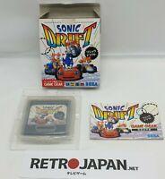 JUEGO SONIC DRIFT PARA SEGA GAME GEAR. GAMEGEAR IMPORT JAPAN