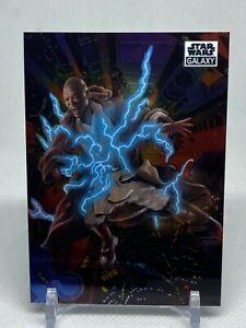 2021 Topps Star Wars Chrome Galaxy BASE Card #72 - Fall of the Jedi