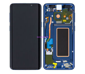 For Samsung Galaxy S9+ Plus G965F LCD Display Touch screen Digitizer+frame+Blue