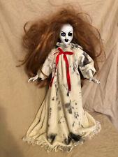OOAK One Eye Nightgown Creepy Horror Doll Art by Christie Creepydolls
