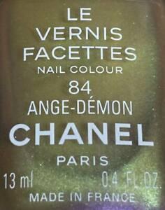 chanel nail polish 84 ANGE - DEMON rare limited edition VINTAGE