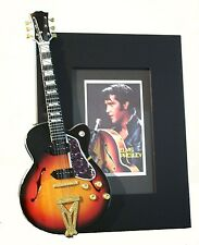 ELVIS PRESLEY  Miniature Guitar Frame COME BACK