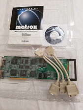 Matrox Quad G100 HP G+/QUADP/HP 8MB PCI Video Card No Cable 5064-7427