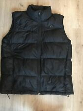 MENS GILET SIZE L NIKE BODYWARMER PUFFER QUILTED JACKET
