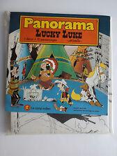 RARE Panorama Lucky Luke Morris 1984 ETAT NEUF Décor relief