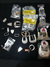 LOT OF Tandy Belt Buckle New Leather Crafts