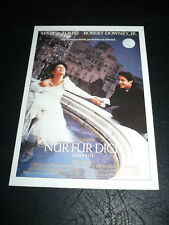 ONLY YOU, film card [Marisa Tomei, Robert Downey Jr.]