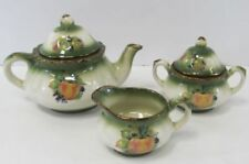 Green Staffordshire Pottery