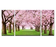 Japanese Cherry Blossom Sakura Canvas Prints Wall Decor Art Flowers Picture Gift
