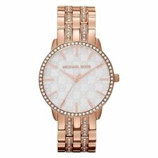 Michael Kors Ladies Womens Wrist Watch Lady Nini Rose Gold MK3183
