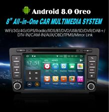 "RADIO DVD 8"" SKODA OCTAVIA ANDROID 8.0 GPS USB 4G BLUETOOTH 4GB RAM ERISIN 7826S"