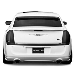 Fits 11-14 Chrysler 300 300C GTS Acrylic Smoke Taillight Covers 2pc Set GT4118
