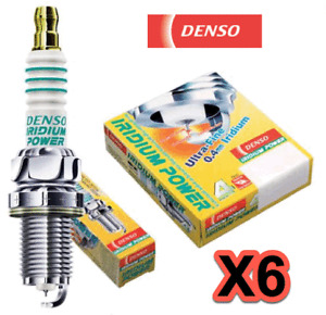 Set 6 Spark Plugs Iridium Power DENSO 5350 ITL20 High Performance & Response
