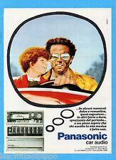 QUATTROR982-PUBBLICITA'/ADVERTISING-1982- PANASONIC CAR AUDIO  (versione C)