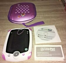 PURPLE LEAP FROG LEAPPAD EXPLORER TABLET CONSOLE WITH CD