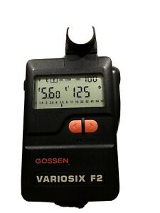 Flash Gossen Light Meter Variosix F2