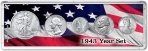 Year Coin Gift Set, 1943