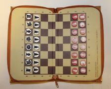 Russian Magnetic Pocket Traveling Chess Set
