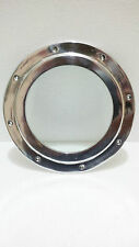 "Porthole Aluminium Ship Window Nautical With Glass Size-8.25""Inch Wt-0.700kg"