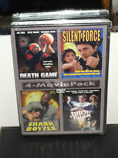 Death Game, Silent Force, Shark In A Bottle, The Effects Of Magic (2-DVDs) NEW!