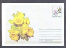 ROMANIA 2002, Butterflies, Flowers - 1 Envelope (22)