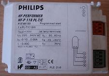 Balasto Electrónico Hf De Philips-intérprete HF-P 118 Pl-T/c-BN!