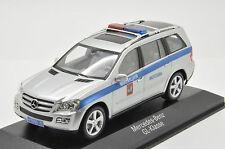 Rare !! Mercedes GL Russian Police Moskow Jeep 1/43 Minichmaps