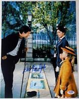 DICK VAN DYKE Signed Auto Autograph MARY POPPINS 11x14 Photo PSA DNA COA (B)