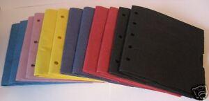 Colors 6X6 SEWN  paper bag scrapbook album/piecing-12bk