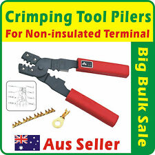 Crimping Tool Pliers For Non-insulated Terminal and Cutting Wires
