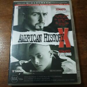 American History X DVD R4 Like New! FREE POST
